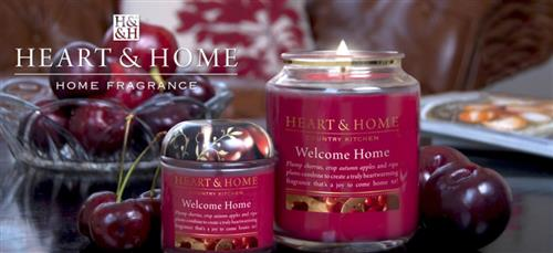 Heart Home Candele.Heart And Home Candles
